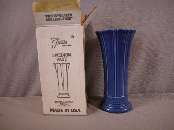 7: Fiesta Post 86 sapphire medium vase