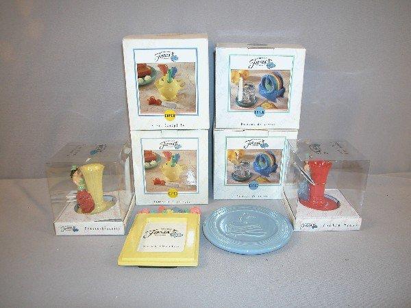 21: Fiesta Post 86 Copco 2 coaster sets, 2 canape sets,