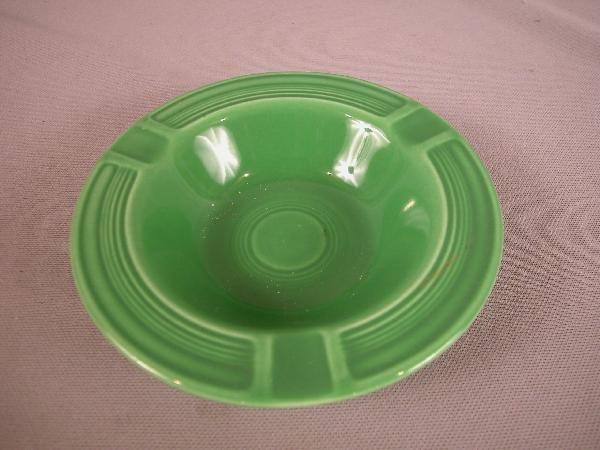3017: Fiesta medium green ashtray