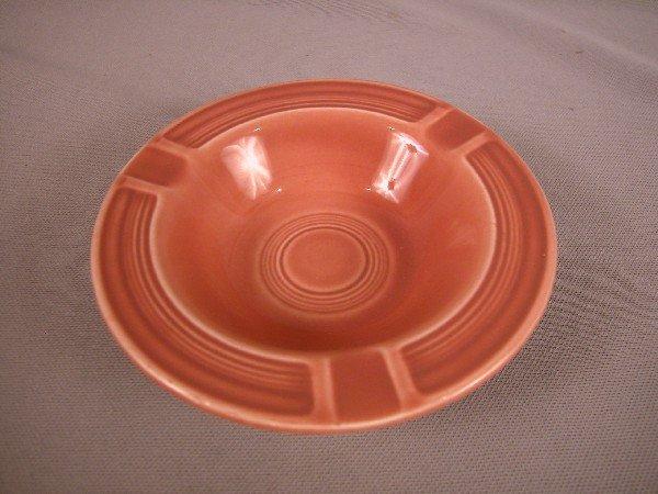 3018: Fiesta rose ashtray