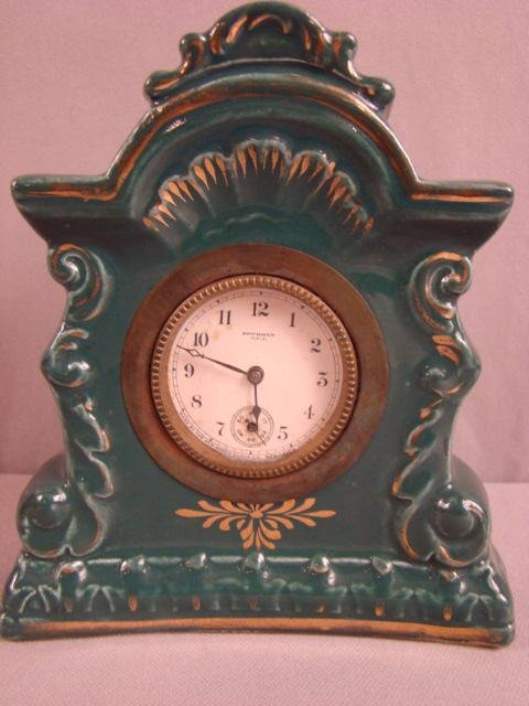 12: New Haven novelty clock, 6 1/2""
