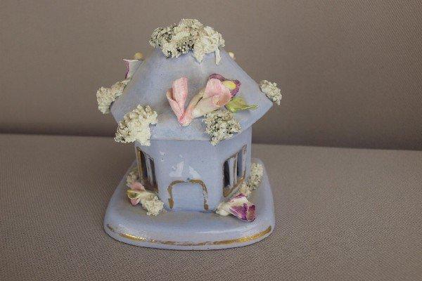 5:  Staffordshire lavender cottage   pastille burner, 3