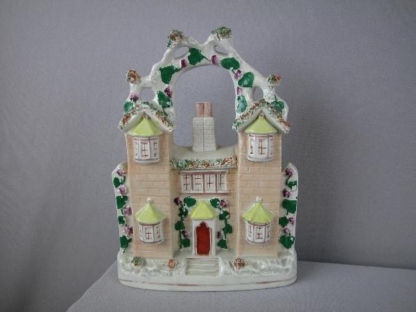 "23:  Staffordshire house figure,  11"""