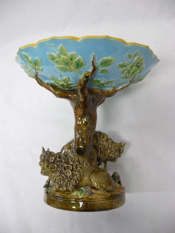1031:  GEORGE JONES majolica rare  form America table c