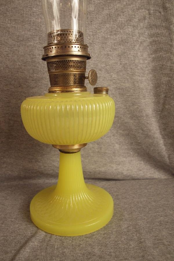 36: Aladdin yellow oil lamp base