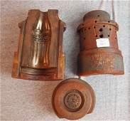 427 Rare cast iron Coca Cola pop bottle mold Albuquer