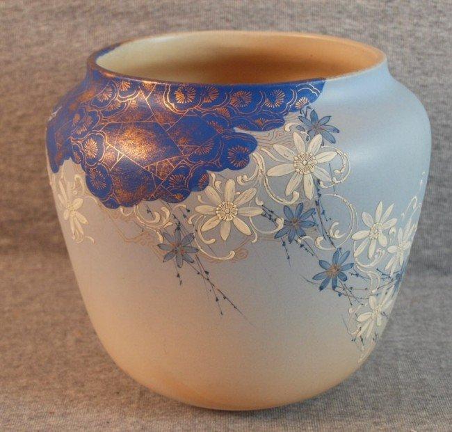 188: Rookwood art pottery jardiniere by Matthew Daley,