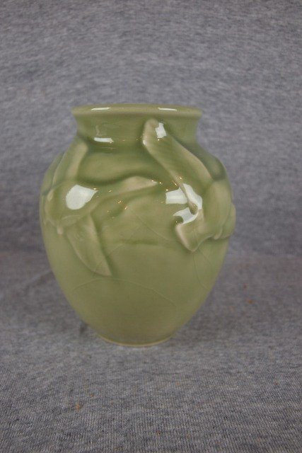 188A: Rookwood art pottery vase with geese