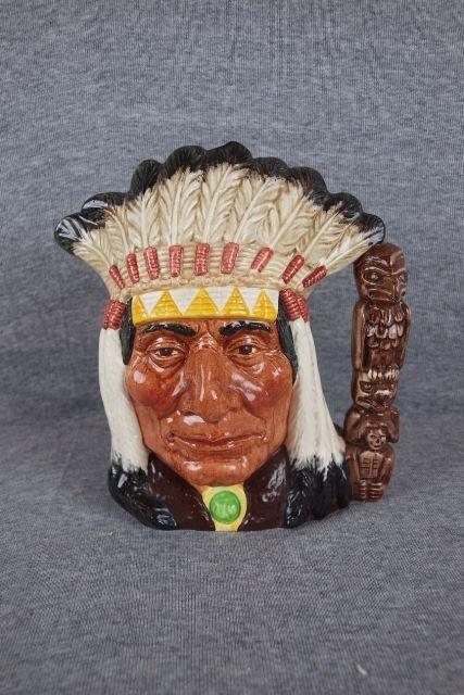 188B: Royal Doulton North American Indian toby jug
