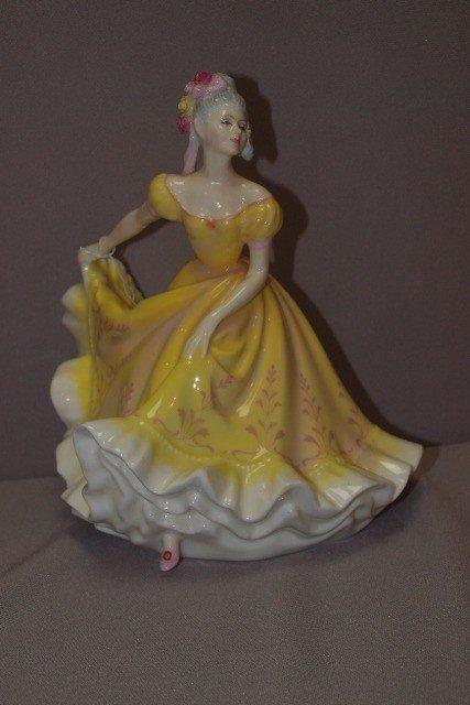 "188D: Royal Doulton ""Ninette"" lady figure, HN2379"
