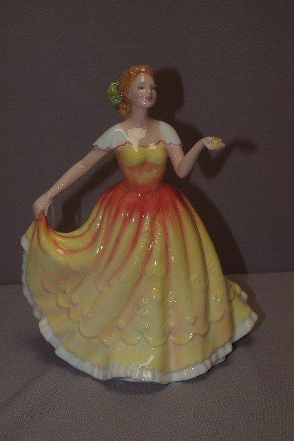 "189C: Royal Doulton ""Deborah"" lady figure, HN3644"