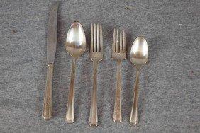 6:  Set of Westmoreland sterling silver flatware, parti