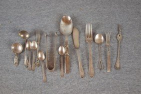 Lot Of Assorted Sterling Flatware, 14 Pieces, 12.8o