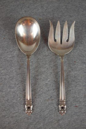 International Royal Danish Sterling Silver Spoon A
