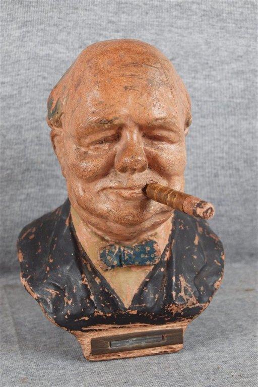 317C: Winston Churchill cigar lighter, 8 1/2\