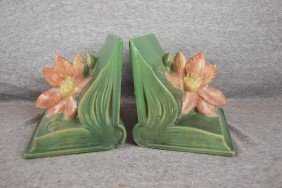 6: Roseville Clematis green bookends, 14