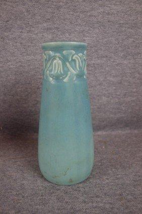 """Rookwood Vase With Floral Rim, 1926, 2111, 6 1/4"""""""