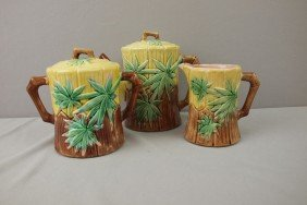 ETRUSCAN Bamboo 3 Piece Teaset , Spout Repair To T