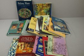 Lot Of 20 Majolica Reference Books By Dawes, Lehr