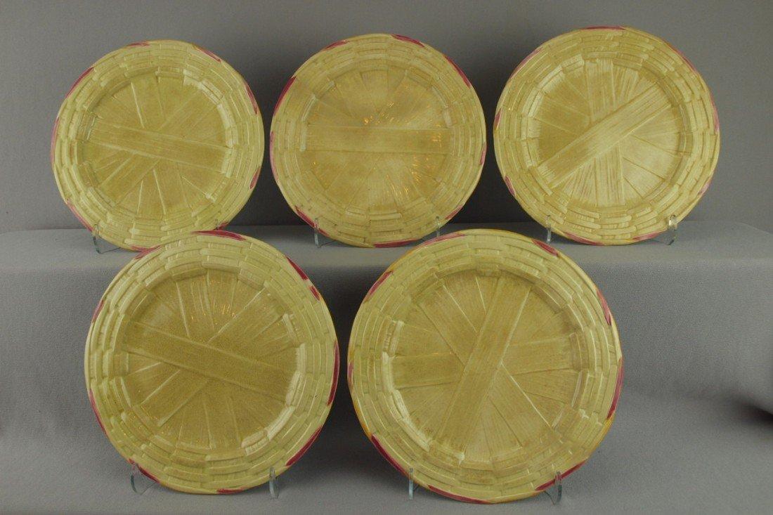 "520:  T.C.BROWN WESTHEAD MOORE & CO set of 5-9"" basketw"