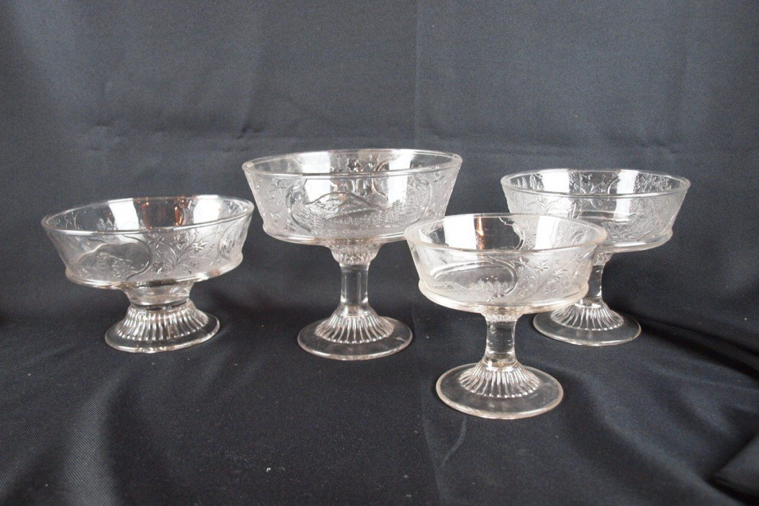 12: EAPG Canada pattern lot of 4 open comports