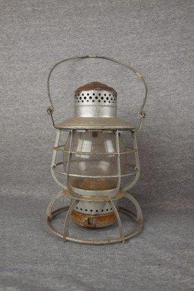 "Railroad Lantern Embossed ""SRY"", (Southern Railway)"