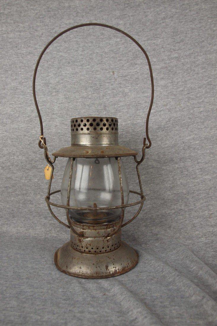 53: Dietz No. 39 railroad lantern with clear globe