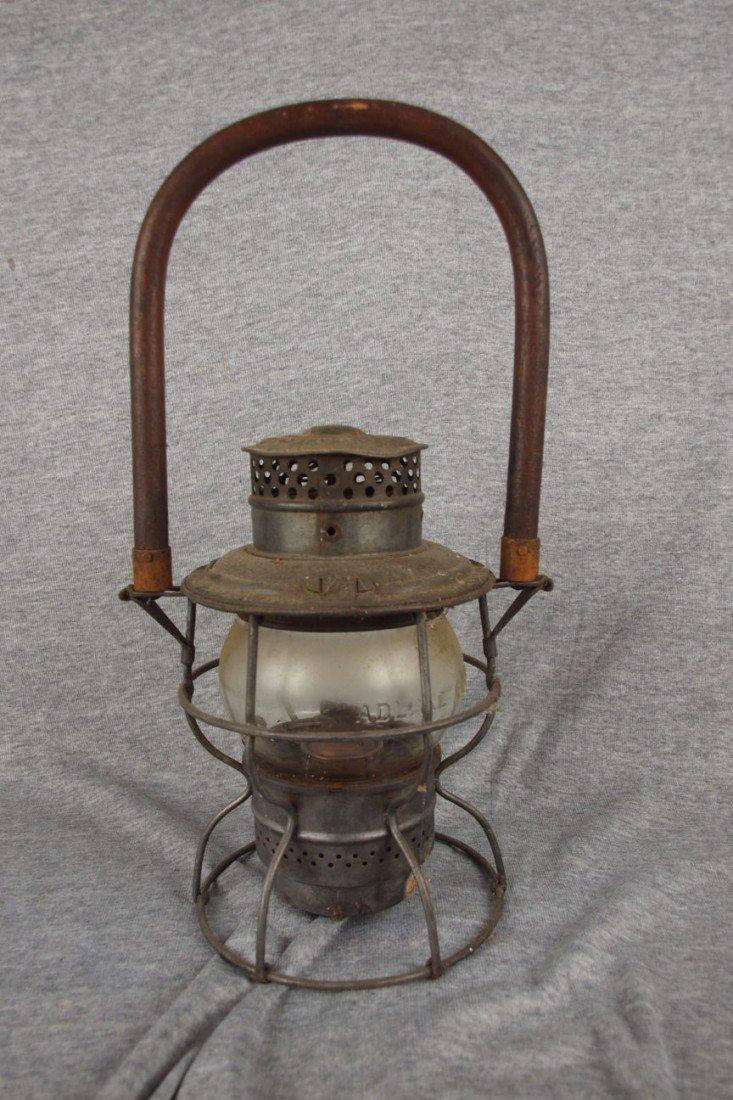 58: Adams & Westlake railroad lantern Adlake No. 250 em