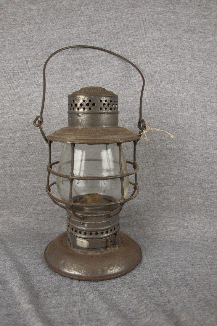 68: Adams & Westlake bell bottom railroad lantern with
