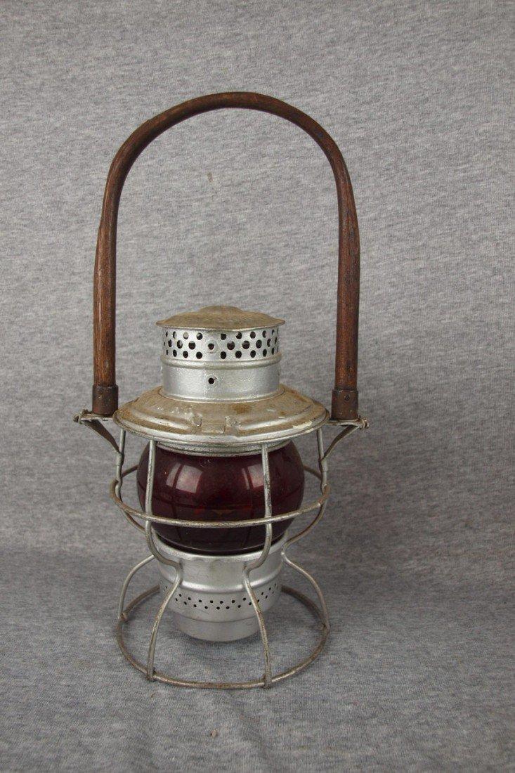 69: Adams & Westlake No. 250 railroad lantern embossed