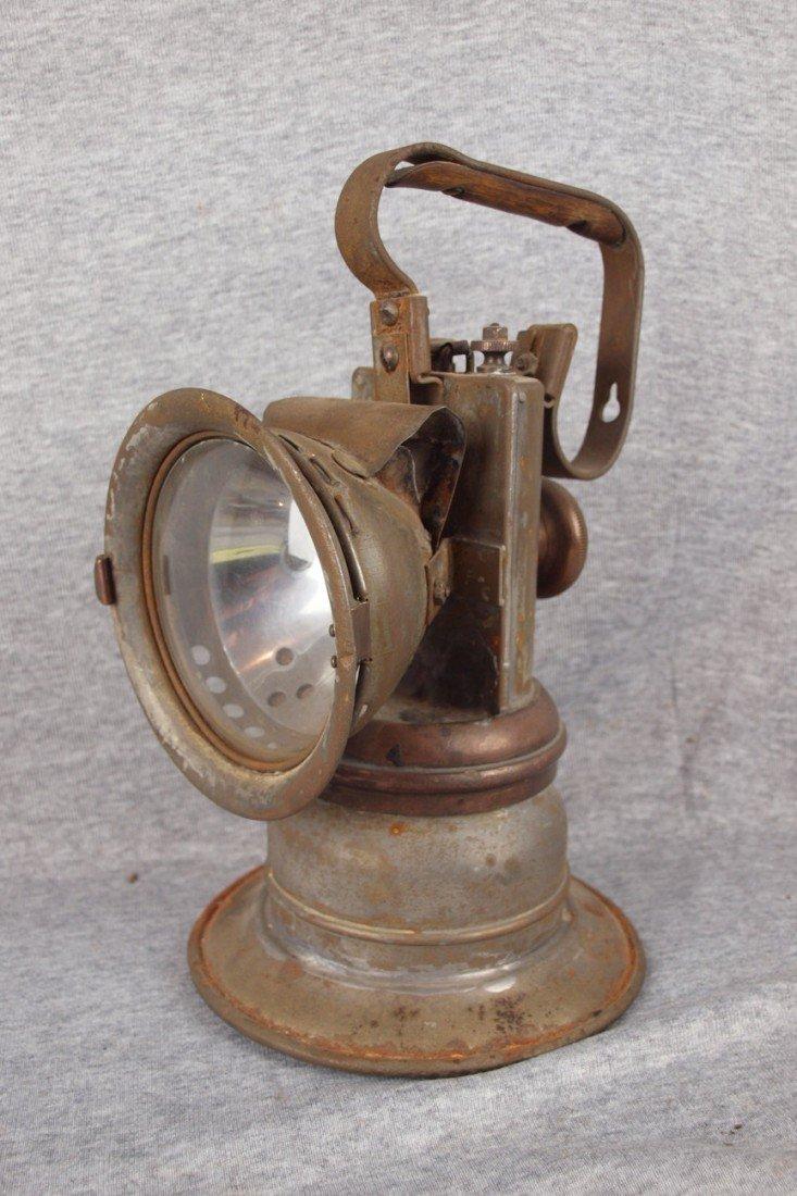 112: National Carbide Lantern carbide railroad lantern,