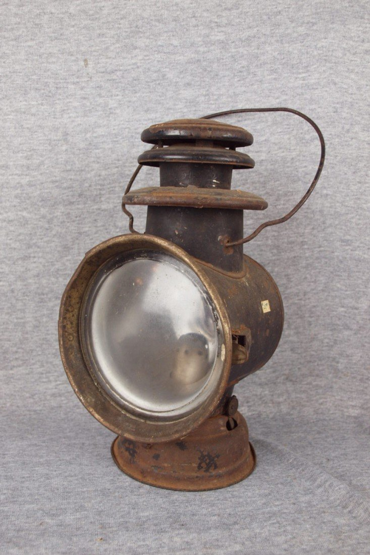 """126: Dietz Drivers Friend Style """"A"""" drivers lamp"""