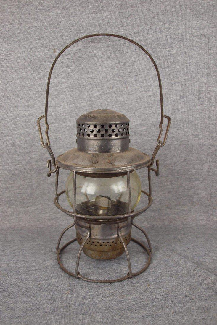 "134: Armspear ""1925"" railroad lantern with clear globe,"