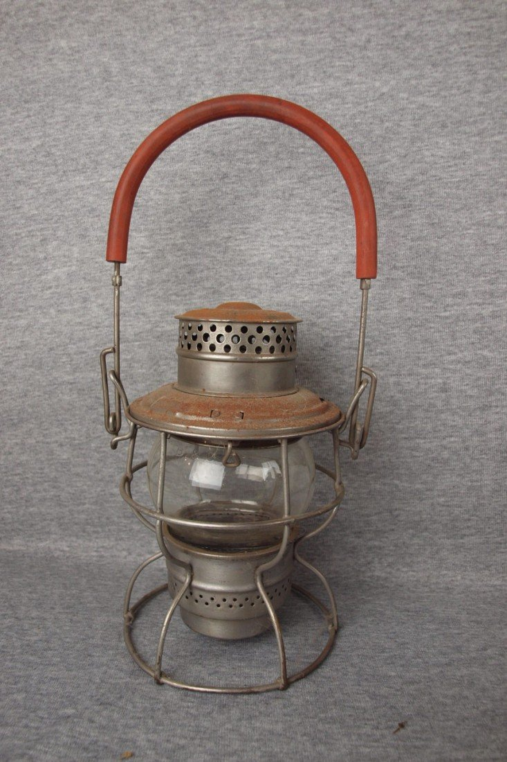 159: Adams and Westlake railroad lantern with clear glo