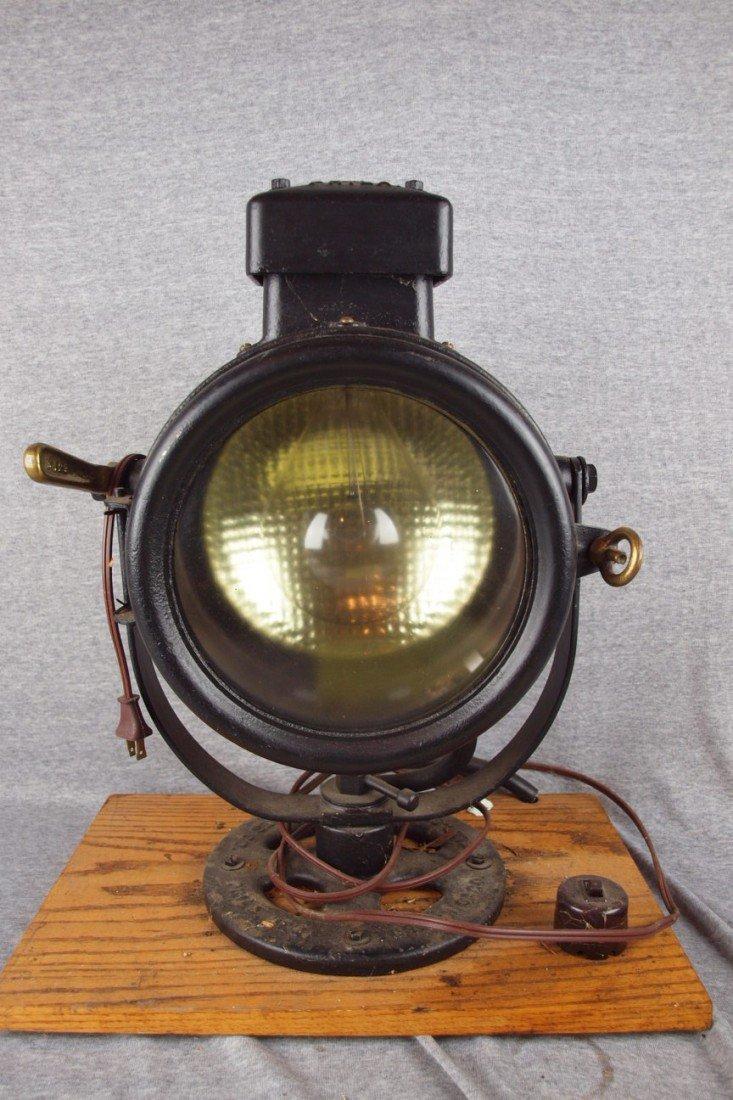 "161: Electic Service & Supply ""Golden Glow"" Marine sear"