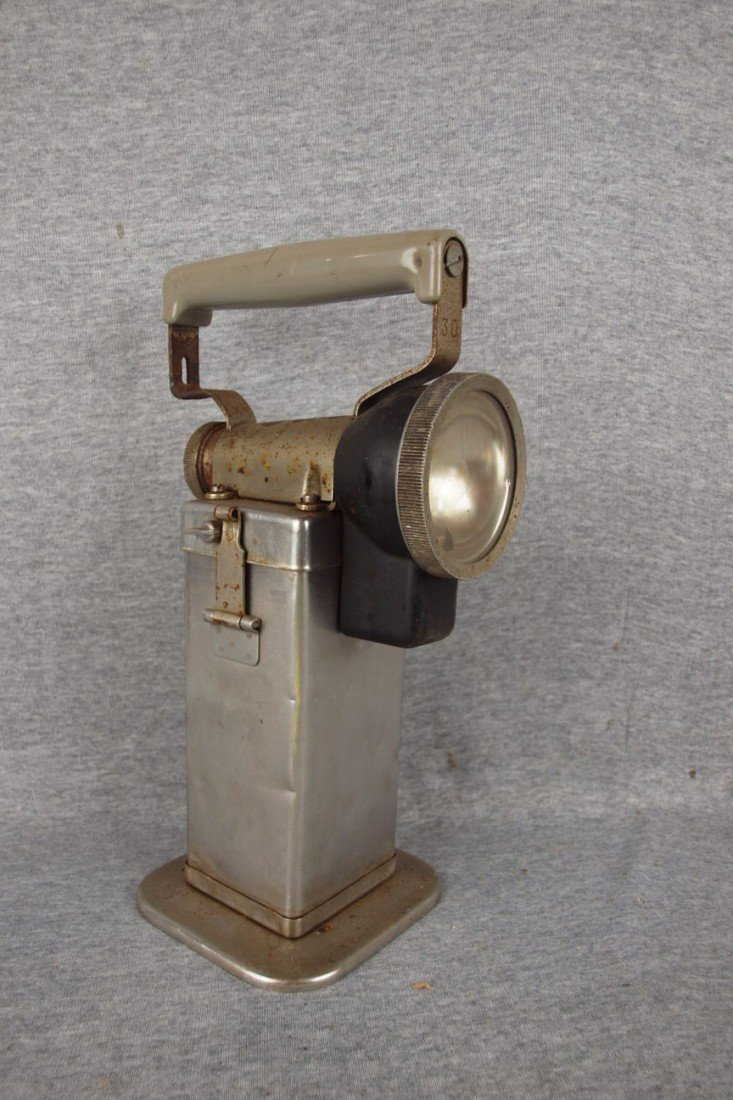 "170: Edison Model FL3 electric hand lamp, impressed ""NY"
