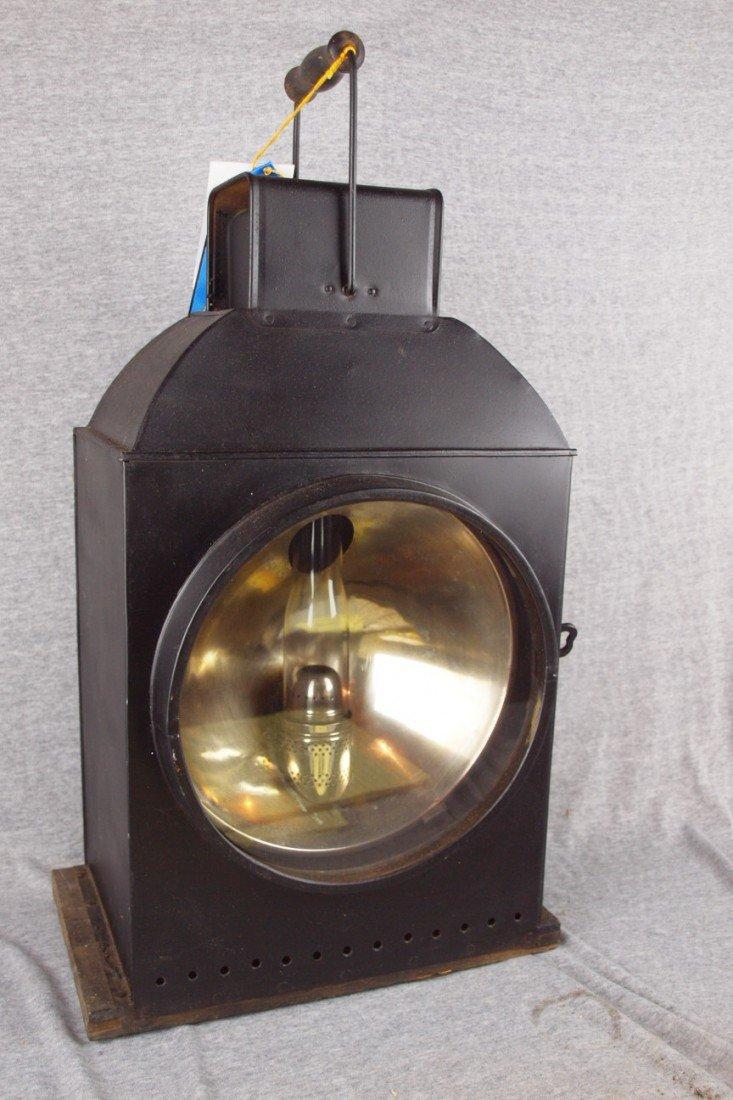 240: Railroad Engine headlight lantern