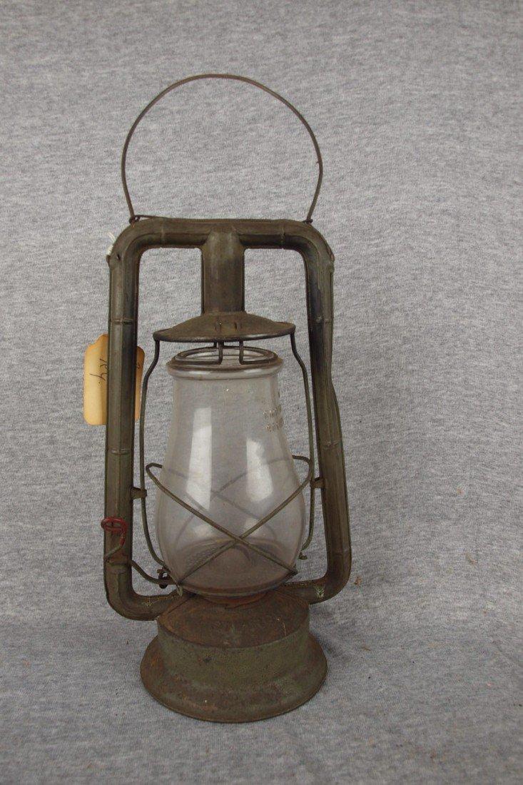 "259: Dietz Monarch lantern embossed ""Boston Elevated RY"