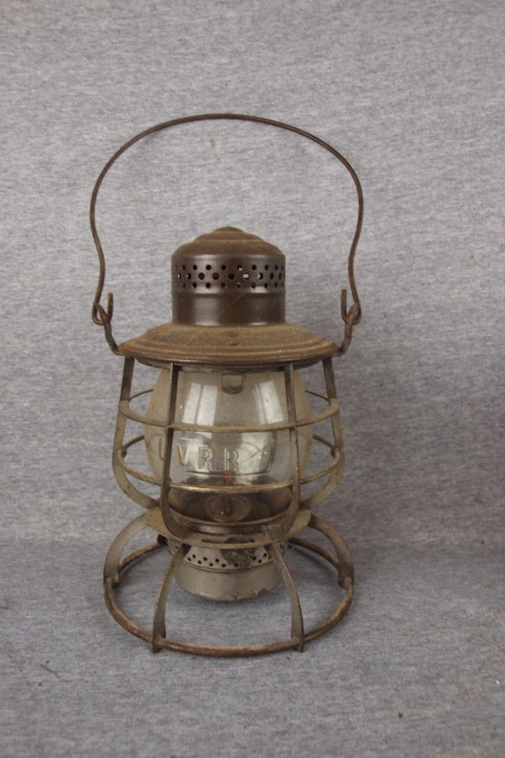 383: Adams & Westlake railroad lantern with tall clear