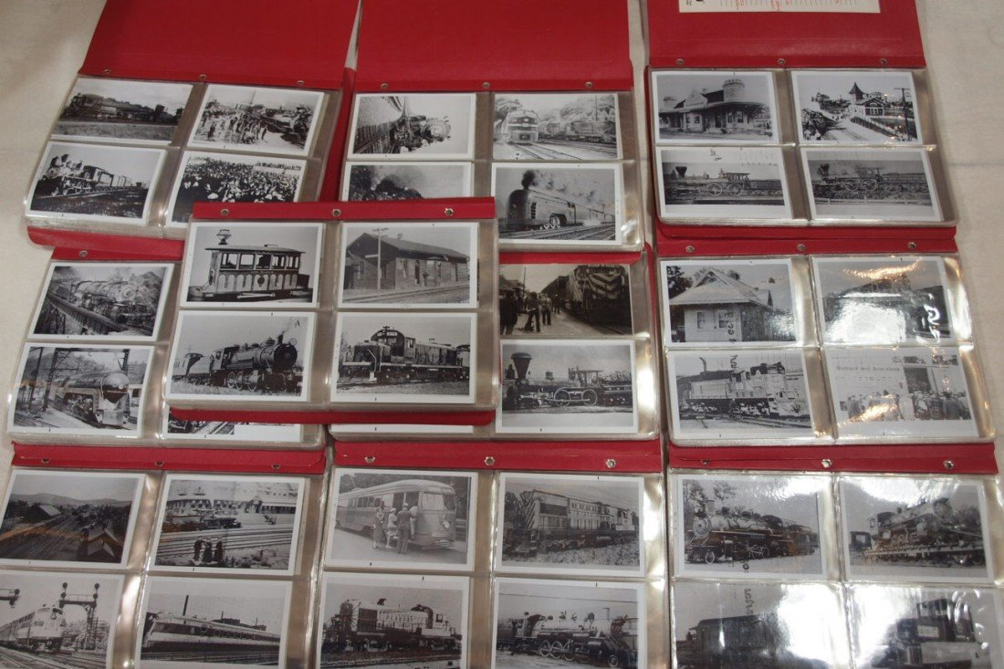 1027: Lot of 525+/- train photos