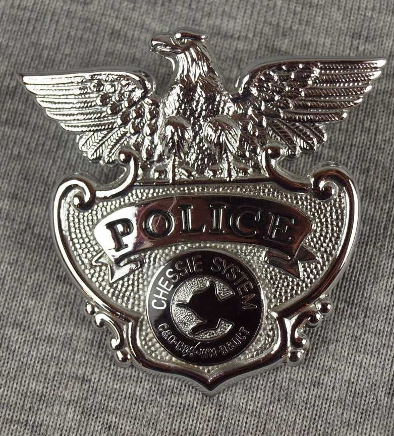 28: Chessie System railroad police badge