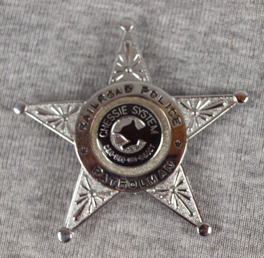 29: Chessie System Railroad Police Patrolman badge