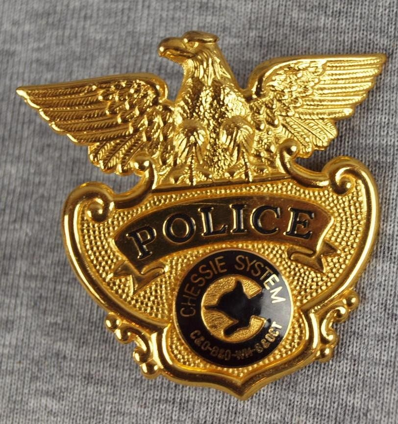32: Chessie System Police badge