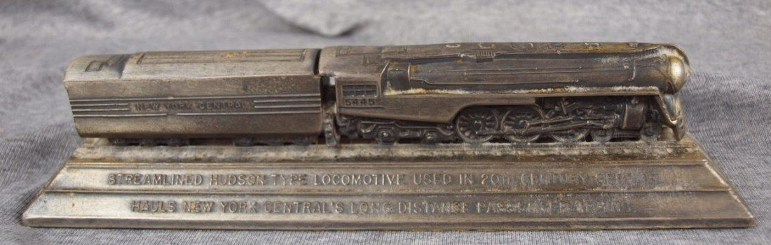 68: NYC Streamlined Hudson Locomotive and tender pewter