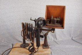 Railway Scissor Telephone, Western Electric