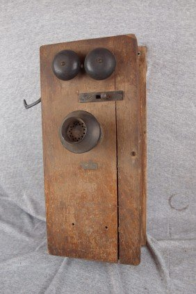 Automatic Electric Co., Oak Wall Telephone, Some