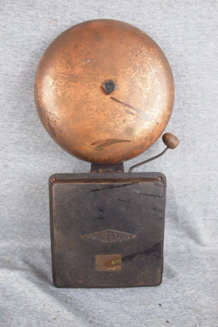 169:  Strander Firealarm bell attributed to Princeton I