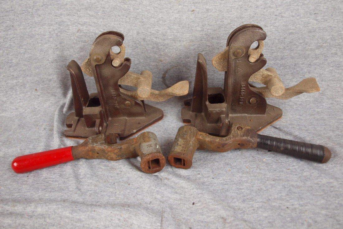 180: Lot of 4 assorted railroad tools