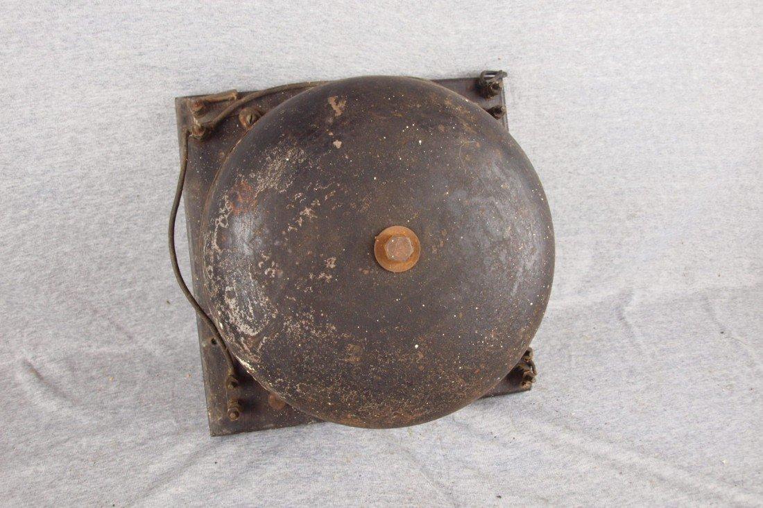 "185:  Railroad crossing bell, 12""d"