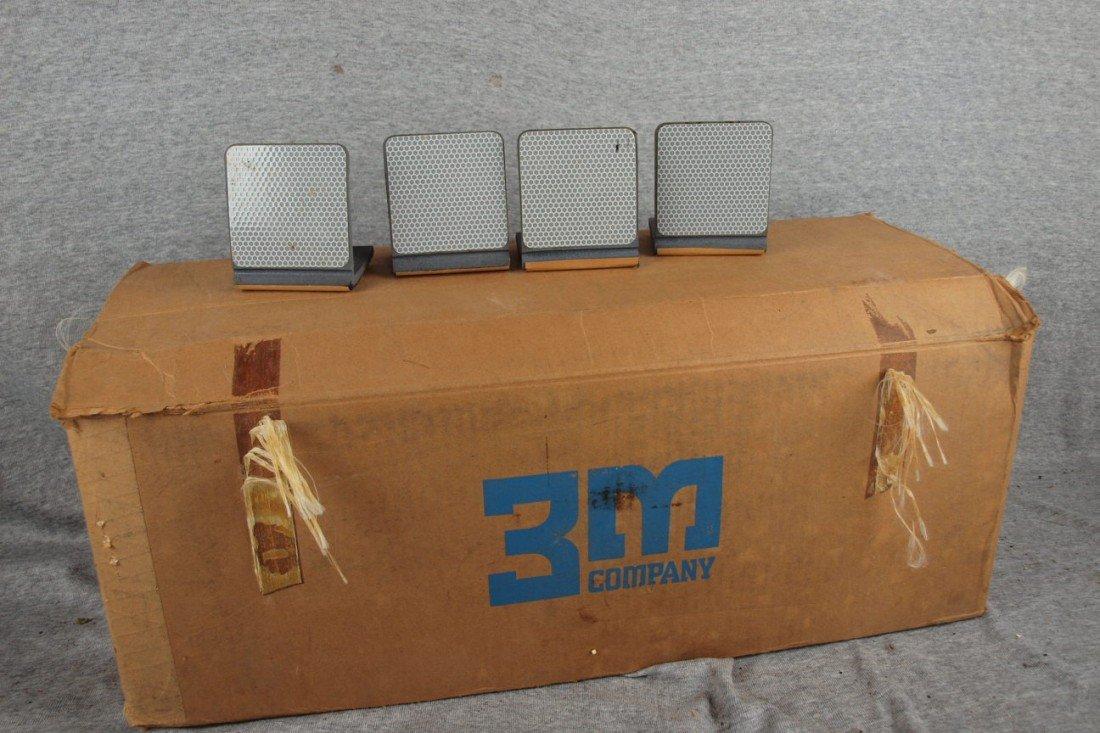 226:  Case of 170 3M Barrier Delineators, reflectors